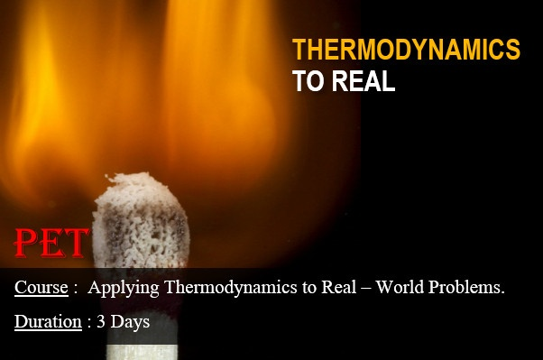 Applying Thermodynamics to Real-Life Problems (ME35)