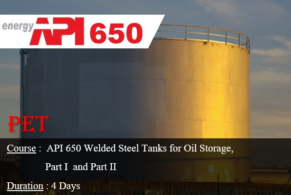 API 650 Welded Steel Tanks for Oil Storage (ME38)