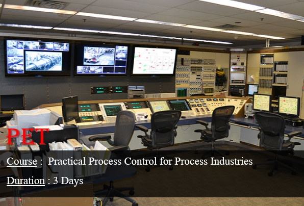 Practical Process Control for Process Industries (ME47)