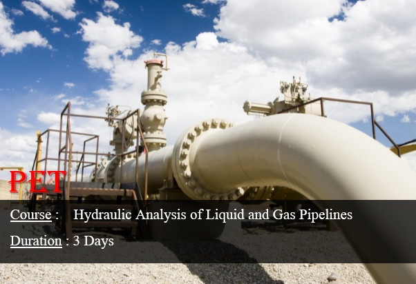 Hydraulic Analysis of Liquid and Gas Pipelines (ME34)