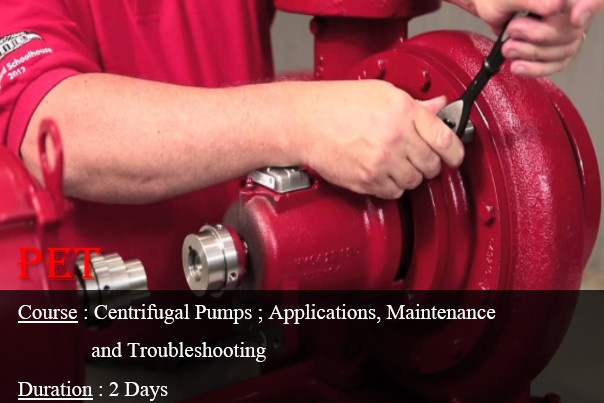 Centrifugal Pumps; Theory and Applications (ME04)