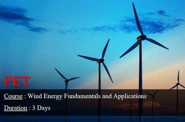 Wind Energy Fundamentals and Applications (GE20)